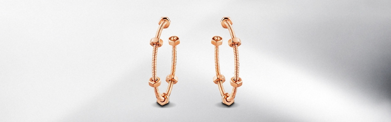 Ecrou de Cartier earrings