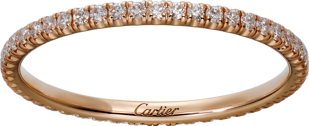 Étincelle de Cartier wedding ringRose gold, diamonds